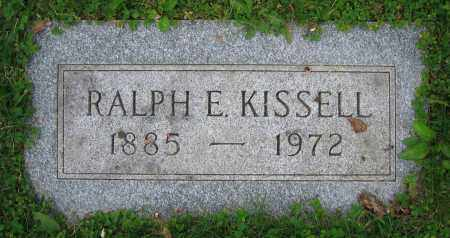 KISSELL, RALPH E. - Clark County, Ohio | RALPH E. KISSELL - Ohio Gravestone Photos