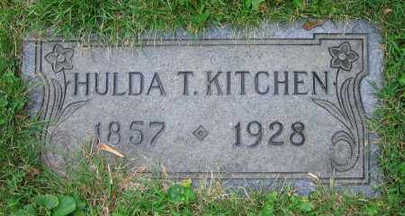 KITCHEN, HULDA T. - Clark County, Ohio | HULDA T. KITCHEN - Ohio Gravestone Photos