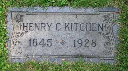 KITCHEN, HENRY C. - Clark County, Ohio | HENRY C. KITCHEN - Ohio Gravestone Photos