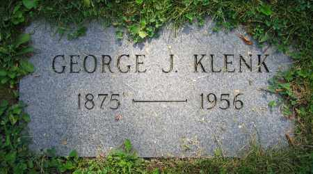 KLENK, GEORGE J. - Clark County, Ohio | GEORGE J. KLENK - Ohio Gravestone Photos