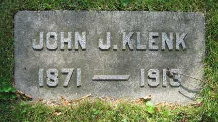 KLENK, JOHN J. - Clark County, Ohio | JOHN J. KLENK - Ohio Gravestone Photos