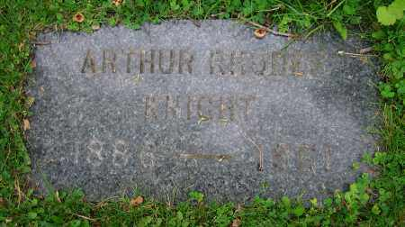KNIGHT, ARTHUR RHODES - Clark County, Ohio | ARTHUR RHODES KNIGHT - Ohio Gravestone Photos