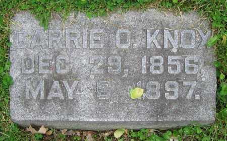 KNOX, CARRIE O. - Clark County, Ohio | CARRIE O. KNOX - Ohio Gravestone Photos