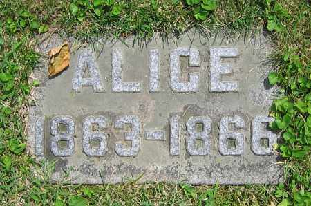 KRAPP, ALICE - Clark County, Ohio | ALICE KRAPP - Ohio Gravestone Photos