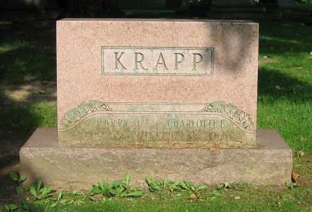 KRAPP, HARRY J. - Clark County, Ohio | HARRY J. KRAPP - Ohio Gravestone Photos