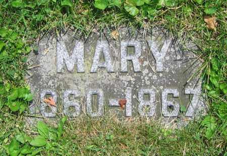 KRAPP, MARY - Clark County, Ohio | MARY KRAPP - Ohio Gravestone Photos