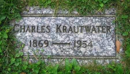 KRAUTWATER, CHARLES - Clark County, Ohio | CHARLES KRAUTWATER - Ohio Gravestone Photos