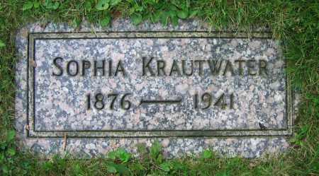 KRAUTWATER, SOPHIA - Clark County, Ohio | SOPHIA KRAUTWATER - Ohio Gravestone Photos