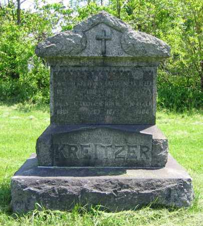 KREITZER, MARY J. - Clark County, Ohio | MARY J. KREITZER - Ohio Gravestone Photos