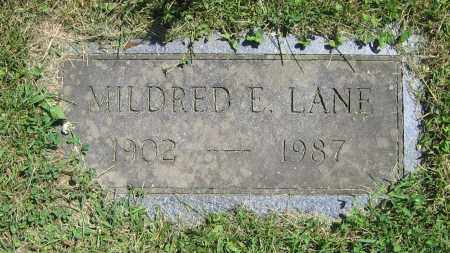 LANE, MILDRED E. - Clark County, Ohio | MILDRED E. LANE - Ohio Gravestone Photos