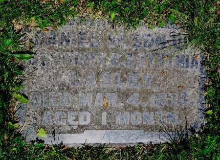 LASLEY, DANIEL W. - Clark County, Ohio | DANIEL W. LASLEY - Ohio Gravestone Photos
