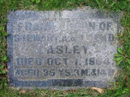 LASLEY, FRANK J. - Clark County, Ohio | FRANK J. LASLEY - Ohio Gravestone Photos
