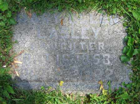 LASLEY, MARY ELLEN - Clark County, Ohio | MARY ELLEN LASLEY - Ohio Gravestone Photos