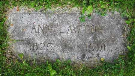 LAWTON, ANN - Clark County, Ohio | ANN LAWTON - Ohio Gravestone Photos