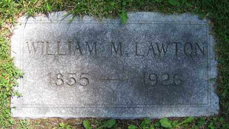 LAWTON, WILLIAM M. - Clark County, Ohio | WILLIAM M. LAWTON - Ohio Gravestone Photos