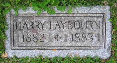 LAYBOURN, HARRY - Clark County, Ohio | HARRY LAYBOURN - Ohio Gravestone Photos
