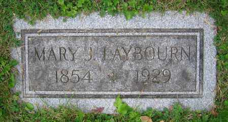LAYBOURN, MARY J. - Clark County, Ohio | MARY J. LAYBOURN - Ohio Gravestone Photos