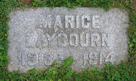 LAYBOURN, MARICE - Clark County, Ohio | MARICE LAYBOURN - Ohio Gravestone Photos