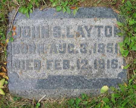 LAYTON, JOHN S. - Clark County, Ohio   JOHN S. LAYTON - Ohio Gravestone Photos
