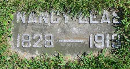 LEAS, NANCY - Clark County, Ohio | NANCY LEAS - Ohio Gravestone Photos