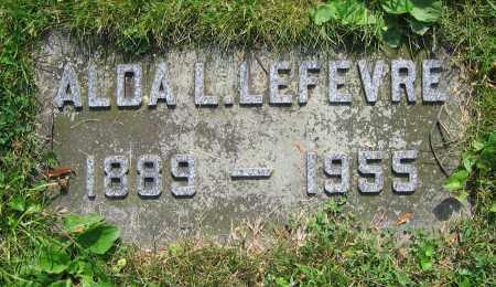 LEFEVRE, ALDA L. - Clark County, Ohio | ALDA L. LEFEVRE - Ohio Gravestone Photos