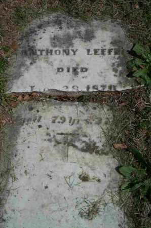 LEFFEL, ANTHONY - Clark County, Ohio | ANTHONY LEFFEL - Ohio Gravestone Photos