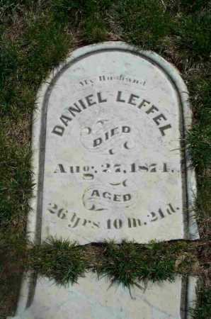 LEFFEL, DANIEL - Clark County, Ohio | DANIEL LEFFEL - Ohio Gravestone Photos