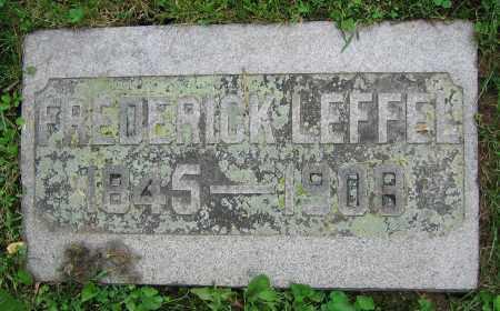 LEFFEL, FREDERICK - Clark County, Ohio | FREDERICK LEFFEL - Ohio Gravestone Photos