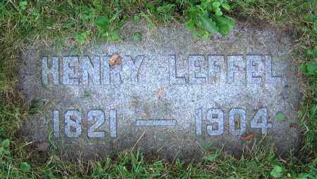 LEFFEL, HENRY - Clark County, Ohio | HENRY LEFFEL - Ohio Gravestone Photos