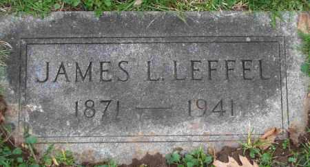 LEFFEL, JAMES L. - Clark County, Ohio | JAMES L. LEFFEL - Ohio Gravestone Photos