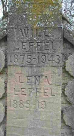 LEFFEL, LENA - Clark County, Ohio | LENA LEFFEL - Ohio Gravestone Photos