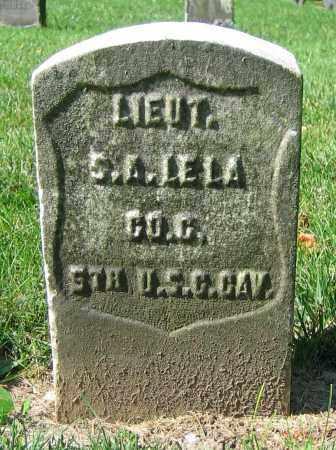 LELA, S.A. - Clark County, Ohio | S.A. LELA - Ohio Gravestone Photos