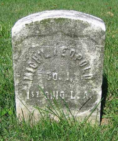 LEOPOLD, MICH'L - Clark County, Ohio | MICH'L LEOPOLD - Ohio Gravestone Photos