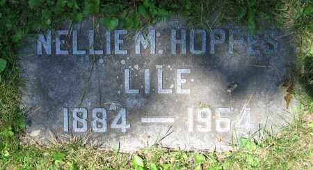 LILE, NELLIE M. - Clark County, Ohio | NELLIE M. LILE - Ohio Gravestone Photos