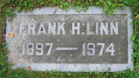 LINN, FRANK H. - Clark County, Ohio | FRANK H. LINN - Ohio Gravestone Photos