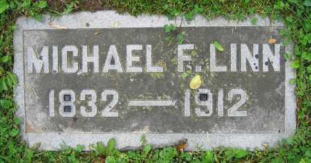 LINN, MICHAEL F. - Clark County, Ohio | MICHAEL F. LINN - Ohio Gravestone Photos
