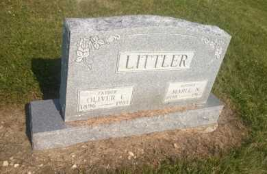 LITTLER, OLIVER C. - Clark County, Ohio | OLIVER C. LITTLER - Ohio Gravestone Photos