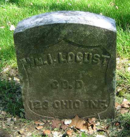 LOCUST, WM. I. - Clark County, Ohio | WM. I. LOCUST - Ohio Gravestone Photos