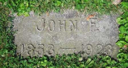 LOHNES, JOHN F. - Clark County, Ohio | JOHN F. LOHNES - Ohio Gravestone Photos