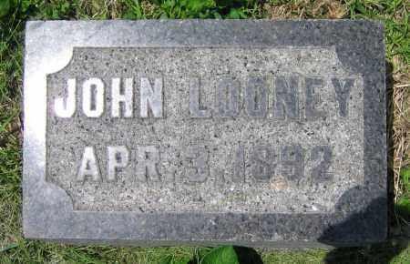 LOONEY, JOHN - Clark County, Ohio | JOHN LOONEY - Ohio Gravestone Photos