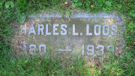 LOOS, CHARLES L. - Clark County, Ohio | CHARLES L. LOOS - Ohio Gravestone Photos