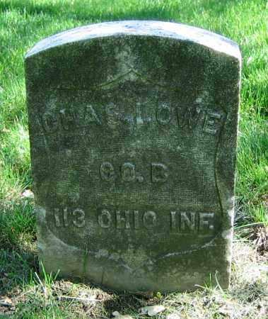 LOWE, CHAS. - Clark County, Ohio | CHAS. LOWE - Ohio Gravestone Photos