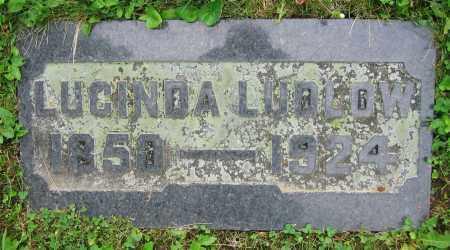 LUDLOW, LUCINDA - Clark County, Ohio | LUCINDA LUDLOW - Ohio Gravestone Photos