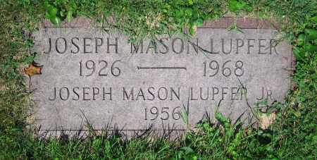 LUPFER, JOSEPH MASON  JR. - Clark County, Ohio | JOSEPH MASON  JR. LUPFER - Ohio Gravestone Photos