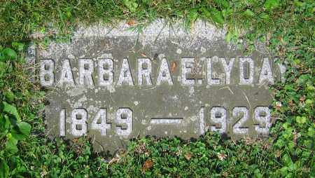 LYDAY, BARBARA E. - Clark County, Ohio | BARBARA E. LYDAY - Ohio Gravestone Photos