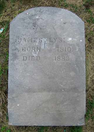 LYSITE, JAMES - Clark County, Ohio | JAMES LYSITE - Ohio Gravestone Photos
