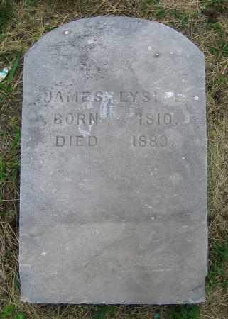 LYSITE, JAMES - Clark County, Ohio | JAMES LYSITE - Ohio Gravestone Photos