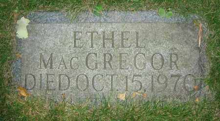 MACGREGOR, ETHEL - Clark County, Ohio | ETHEL MACGREGOR - Ohio Gravestone Photos
