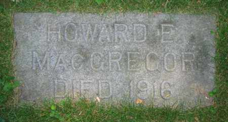 MACGREGOR, HOWARD E. - Clark County, Ohio | HOWARD E. MACGREGOR - Ohio Gravestone Photos