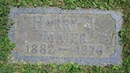 MAIER, HARRY J. - Clark County, Ohio | HARRY J. MAIER - Ohio Gravestone Photos